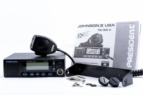 President Johnny III CB Radio - Included Items