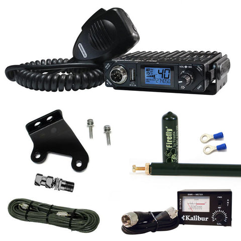 President Bill JK & JKU Jeep CB Radio Kit