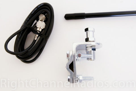 Procomm Single CB Antenna Kit Parts