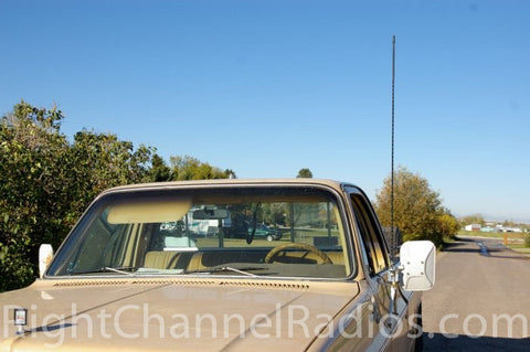 Procomm CB Antenna Installed on Truck