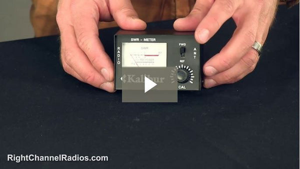 SWR Meter with Jumper Cable - Video