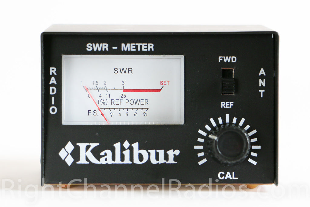 Swr Meter With Jumper Cable Right Channel Radios