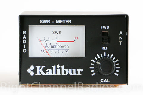 SWR Meter Controls - Front View