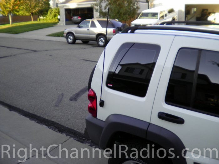 Cb Antenna Molded Side Mount Right Channel Radios