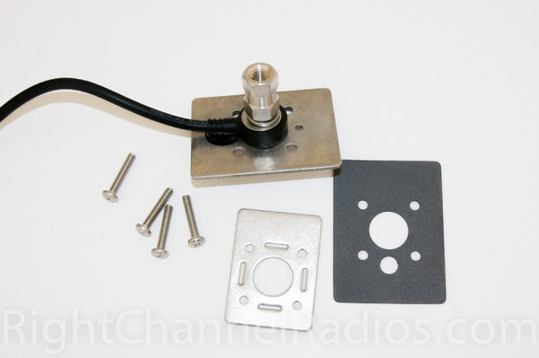 Truck Internal Stake Hole Cb Antenna Mount Right Channel