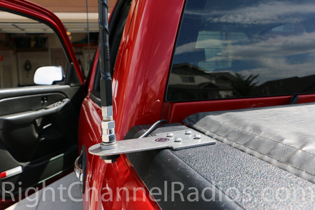 Truck Stake Hole Cb Antenna Mount Right Channel Radios