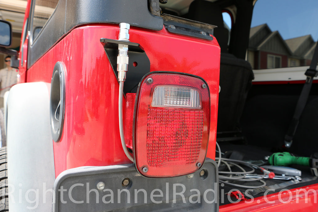 Teraflex Jeep Wrangler Cb Mount Right Channel Radios