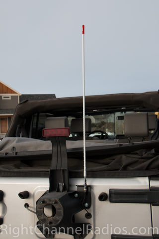 Teraflex JK Jeep Mount with Antenna