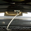 Trunk Lip CB Antenna Mount Attached to a Car Trunk