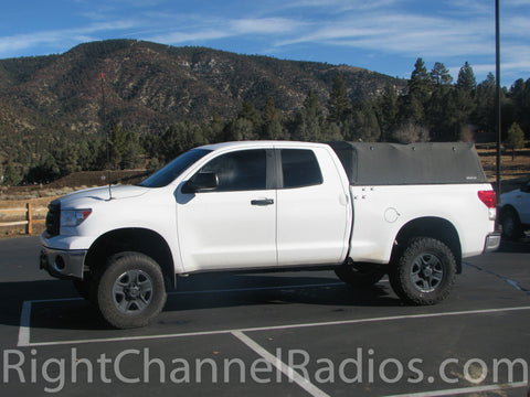 Toyota 2007+ Mount Installed on a Toyota Tundra Pickup - Full Truck View