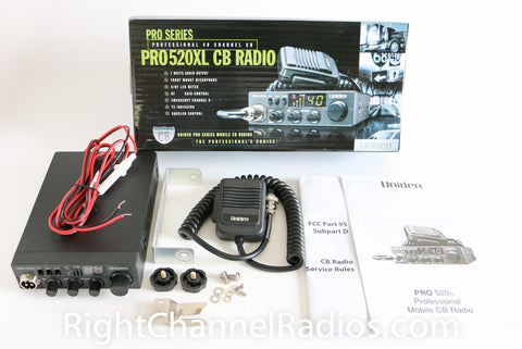 Uniden Pro 520 XL Included Parts & Accessories