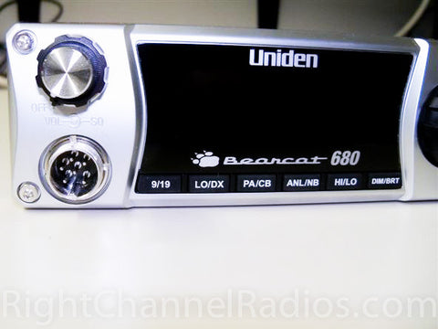 Uniden 680 Display Close Up