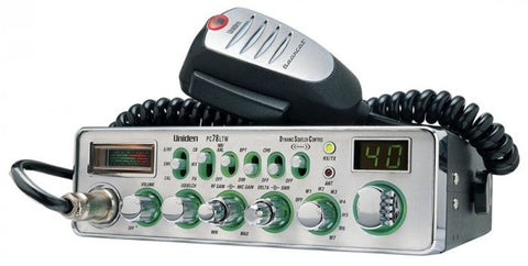 Uniden PC78 LTW CB Radio Front View