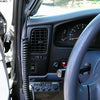 Uniden 520 CB Radio Installed in Pickup Cab