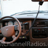 Uniden 520 CB Radio Installed under Dash