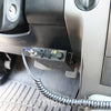 Uniden 520 CB Radio Installed Below Steering Wheel