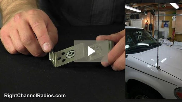 Adjustable Universal Hood Mount - Video
