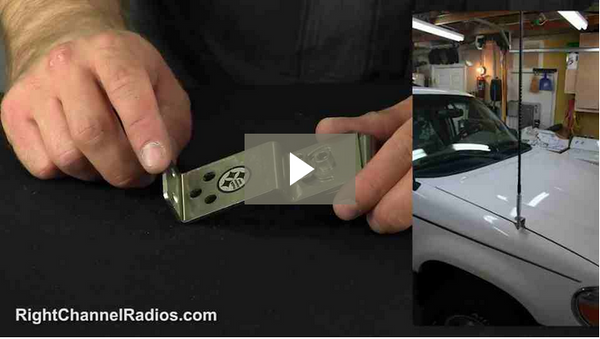 Universal Hood CB Mounting Kit - Video