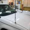 Universal Hood CB Antenna Mount Installed on Truck