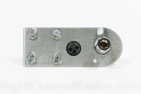 Wide Flat CB Antenna Mount - Top View