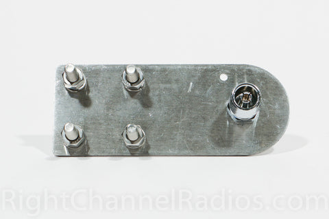 Wide Flat CB Antenna Mount - Bottom View