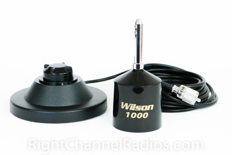 Wilson 1000 CB antenna weathercap installed