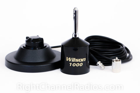 Wilson 1000 Magnet Antenna with Coil Removed