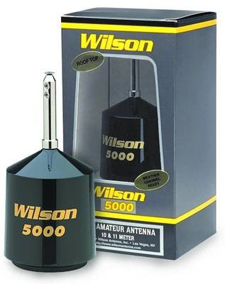 Wilson 5000 Roof CB Antenna Front View with Box
