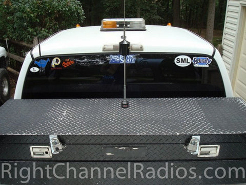 Wilson 5000 Trucker Installed on Pickup Tool Box - Top View