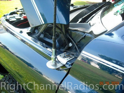 Wilson Flex CB Antenna Installed on Dodge Truck