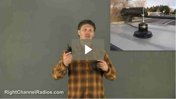 Uniden Pro 510 XL Car & SUV Package - Video