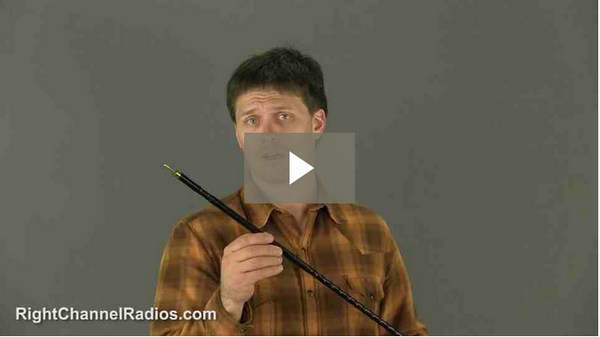 Wilson Silver Load FGT CB Antenna - Video