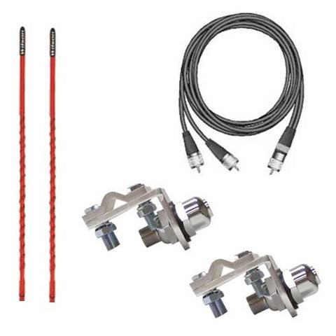 Wilson Silver Load Professional CB Antenna Kit