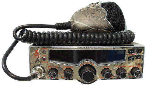 Cobra 29 LX Camo CB Radio Front with Microphone