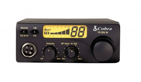 Cobra 19 DX IV CB Radio Face