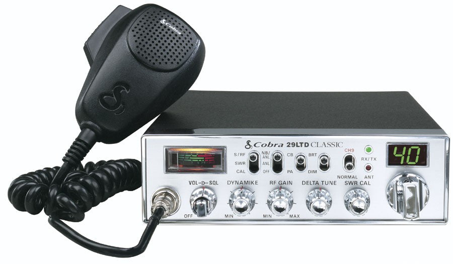 Cobra 29 Ltd Classic Cb Radio Right Channel Radios