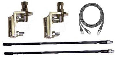 Procomm Dual Antenna CB Kit