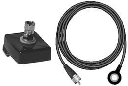 Trunk Lip CB Antenna Mount Kit with Coax Cable