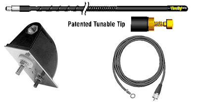 Firestik NGP Molded Side Mount Antenna Kit