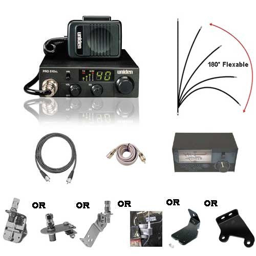 Uniden Jeep & Off-Road CB Radio Kit