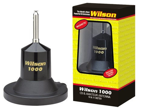 Wilson 1000 Magnet Cb Antenna Right Channel Radios