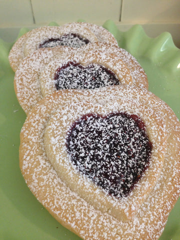 Shortbread with Raspberry Filling