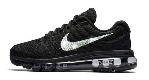 CLEARANCE - Nike Air Max 2017 + Crystals - Black