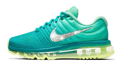 Nike Air Max 2017 + Swarovski Crystal Swoosh - Tiffany Blue