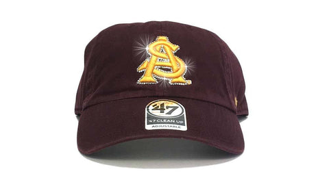 Arizona State Sun Devils '47 Brand Adjustable Cap + Custom Swarovski Crystals