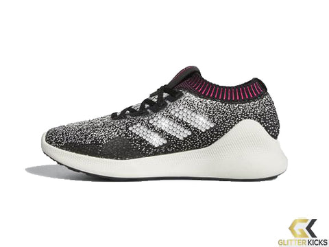Women's Adidas Purebounce + Crystals - Cloud White/Core Black/Chalk Pearl