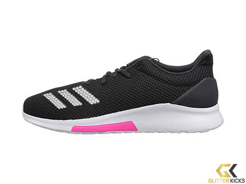 CLEARANCE - Adidas Puremotion + Crystals - Core Black/Carbon/Shock Pink - Size 8