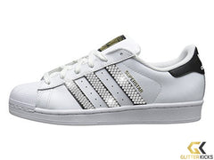 Adidas Superstar + Crystals - Black/White