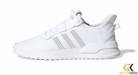 Adidas U_Path Run Shoes - Cloud White/ Cloud White/ Cloud White