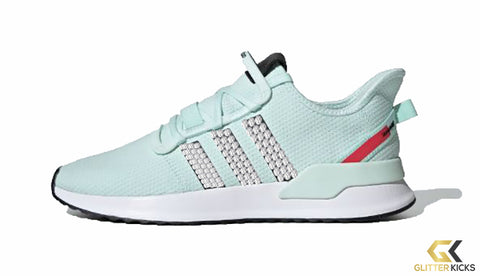 Adidas U_Path Run Shoes - Ice Mint/ Core Black/ Shock Red
